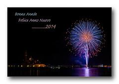 Venise 2014 (Christian ;-)) Tags: venise venezia italie nouvelan feudartifice voeux 2014 feliceannonuovo basiliquesangiorgiomaggiore