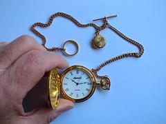 258-365 (Year 7) Watch and chain (♔ Georgie R) Tags: watch ring jewellery chain locket werehere hereio