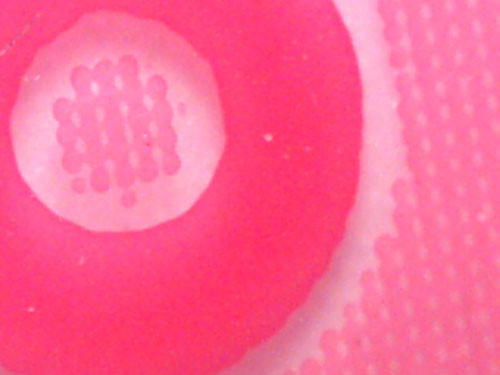 "microscope detail – Hello Kitty packaging • <a style=""font-size:0.8em;"" href=""http://www.flickr.com/photos/61714195@N00/11737264246/"" target=""_blank"">View on Flickr</a>"