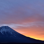 Before sunrise at Mt.Fuji