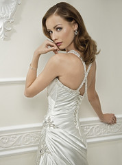 The Bride I'd Love To Be!! (Sabrina Satin1) Tags: feminine bridal satin effeminate bridalfantasy crossdressingfantasy