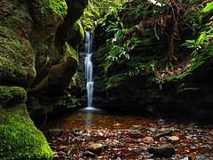 Secret Falls Mt Wellington Tasmania. (Tewbacca) Tags: mt wellington tasmania hobart