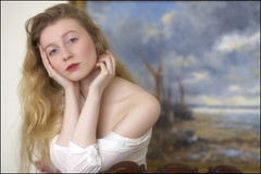 A Portrait (strussler) Tags: portrait girl beauty canon eos naturallight ef135f2l 5dmkii dontforgetneda