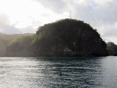 IMG_1560 (jaglazier) Tags: morning trees mountains clouds islands landscapes seascapes january carribean cliffs forests standrew deciduoustrees 2014 saintandrew 1714 saintvincentandthegrenadines sandygully copyright2014jamesaglazier