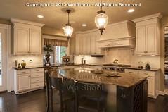 Kitchen in Luxury Home (weeviltwin) Tags: lighting house home kitchen counter floor rich granite residence flooring residential luxury countertop hardwood highend blackwalnut weshootcom