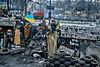 Kiev-revolution26-barricades (Vikst) Tags: street ukraine revolution kiev protests revolt reportage tamron175028 canon400d