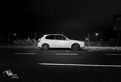 (Yesenia Lpez) Tags: cars byn car grancanaria night photo bn coche toyota g6 corolla e11 4afe