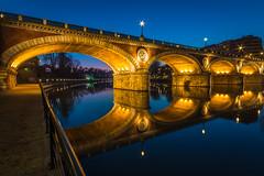 Ponte Isabella (LedOnix) Tags: torino tramonto fiume ponte piemonte po riflessi ponteisabella 1020mmf456exdc sigmaitalia canoneos70d
