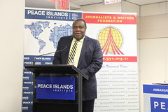 Amb. Kingsley Mamabolo, PR of South Africa