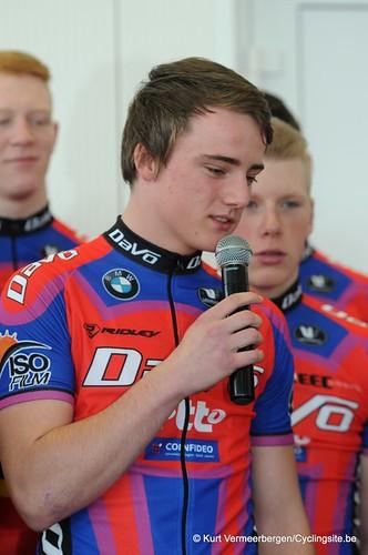 Ploegvoorstelling Davo Cycling Team (87)
