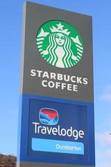 Starbucks Dumbarton (Graham`s pics) Tags: starbucks travelodge names dumbarton brand brandnames gspiccies