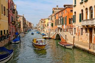 Venice : Ponte Rosso o dei Trasti / Fondamenta de la Sensa / Rio de la Sensa / Ponte de la Malvasia