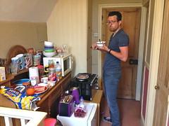 Ontbijt in het airbnb