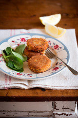 Tortini croccanti di patate (marifra mentaeliquirizia) Tags: food vegetables potatoes vegetarian verdure vegetariano contorno