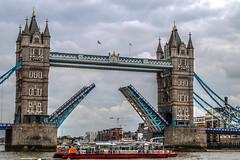 Tower Bridge (vgallova) Tags: london towerbridge bridgelift londonlandmarks lifttowerbridge