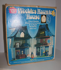 1976 Hasbro Weebles Haunted House (gregg_koenig) Tags: house witch room ghost haunted spooky 70s 1970s 1976 hasbro weebles weeble romper