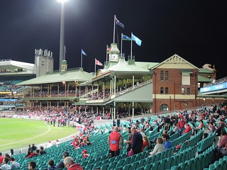 Sydney Cricket Ground - Before the game!