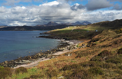 The Wester Ross Coastal Trail (tinymei) Tags: mountains walking landscape coast scotland scottishhighlands highlandsofscotland westcoastofwales westerrosscoastaltrial