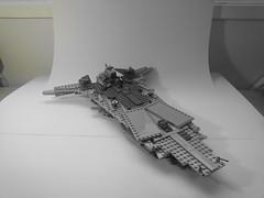 Victory II-class frigate (dazza.) Tags: star starwars lego victory class wars frigate miniscale