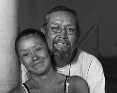 Homeless in New Mexico: China and Craig (Mitch Tillison Photography) Tags: china street portrait blackandwhite newmexico love monochrome loving photography photo amazing couple university homeless albuquerque craig strength dignity joyous innerbeauty ad360 resourcefulness wistro tamron70200f28 godox mitchtillison nikond750