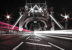 Tower Bridge (said.gudantov) Tags: bridge light england blackandwhite london night canon landscape lights freedom europa europe flickr downtown hand dramatic bank explore londra hdr 600d fluidr