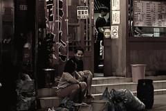 Trash Talk (Antoimn photo) Tags: taiwan taipei trash garbage social desaturate classical