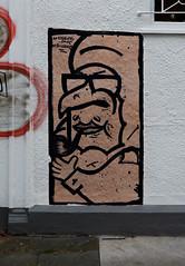 HH-Wheatpaste 3053 (cmdpirx) Tags: hamburg germany reclaim your city urban street art streetart artist kuenstler graffiti aerosol spray can paint piece painting drawing colour color farbe spraydose dose marker stift kreide chalk stencil schablone wall wand nikon d7100 paper pappe paste up pastup pastie wheatepaste wheatpaste pasted glue kleister kleber cement cutout