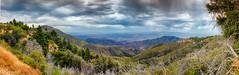 Bear mountain exodus (hopeliesinproles) Tags: big bear vista landscape hdr panorama trees hills beauty california amazing handheld canon dslr