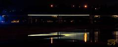 Chercher un nouveau repre... (Myhoruseye) Tags: chercherunnouveaurepre nuit pont perdu nevers nivre bourgogne loire reflet findanewlandmark night bridge lost reflection path way burgundy chemin direction