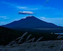 2016 The first snowcap Fuji (shinichiro*) Tags:    jp 20160925ds39186 2016 crazyshin nikond4s afsnikkor2470mmf28ged fuji september autumn yamanashi japan lakeyamanaka