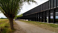_DSC6761 (durr-architect) Tags: info centre zwin heartland belgium architecture cousse goris nature park wood structure border aday16 group area green trees