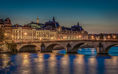 Muse d'Orsay (aurlien.leroch) Tags: france paris sunset seine nikon d7100 cityscape musedorsay toureiffel eiffeltower night