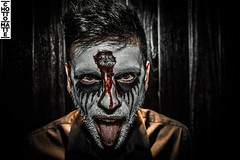 CAM10316.jpg (Chotto Matte Client Page) Tags: halloween scary hardlight lowlight makeup 2016 blood chottomatte