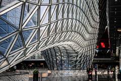 MyZeil (WvBadger) Tags: steel glass frankfurt ffm modern postmodern hi tech germany german hesse shopping centre ziel my myzeil