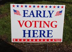 Georgetown Branch Early Voting 2016 (ACPL) Tags: fortwaynein acpl allencountypubliclibrary georgetown geo 2016 earlyvoting