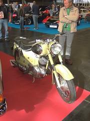 PUCH 125 SV - 1956 (John Steam) Tags: motorcycle motorbike motorrad zweitakt doppelkolben oldtimer vintage exposition ausstellung classic expo 2016 salzburg austria puch 125sv 1956