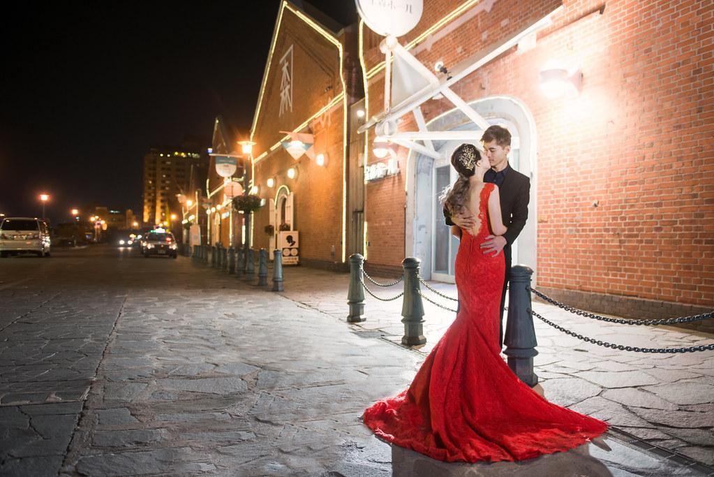 日本北海道婚紗,函館婚紗,金森倉庫婚紗,灣區婚紗,夜景婚紗,海外婚紗