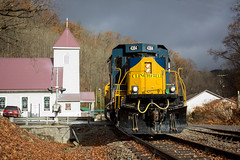 Clinchfield Santa Train (Peyton Gupton) Tags: csx santa train dante virginia clinchfield