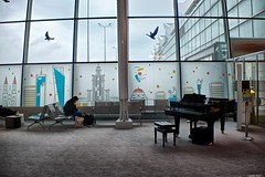 About farewell (Massimo Usai) Tags: architecture europe poland travel warsaw airport romance people farewell pianochopin music peace relax