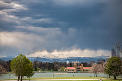 Mount Evans (Kevin Bauman) Tags: mountains mtevans mountain mountevans citypark denver colorado clouds snow