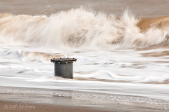 043/116 Rough (Jamarem) Tags: 116picturesin2016 canoneos70d 18250mm sea rough waves slow shutter mablethorpe lincolnshire autumn october