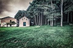 Paesaggio di montagna (Giuseppe Tripodi) Tags: paesaggio landscape mountain green church trees foresta wood