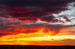 DSC_0954-956 yavapai point sunset hdr 850 (guine) Tags: grandcanyon grandcanyonnationalpark canyon rocks clouds sunset hdr qtpfsgui luminance