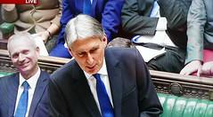2016 1123 018 (PLX100) David Lidington, Philip Hammond; Autumn Statement (BBC2) (Lucy Melford) Tags: panasoniclx100 parliament houseofcommons autumnstatement chancellor philip hammond