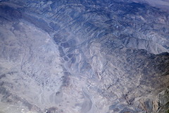 Aerial view of Mazourka Canyon, Owens Valley, Inyo County, California (cocoi_m) Tags: aerialphotograph aerial mazourkacanyon owensvalley inyocounty california inyomountains