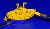 a song : Yellow Submarine (www.nathalie-chatelain-images.ch) Tags: macromondays beatles sousmarin submarine jaune yellow dessin drawing peinture painting bleu blue macro nikon song chanson yellowsubmarine