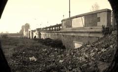Ponte sullo Scrivia. (GiannLui) Tags: ponte scrivia torrente torrentescrivia arcate lapide pinhole stenoscopa fotostenoscopica