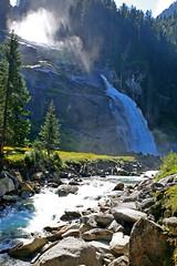 Krimml Waterfalls, Austria (Andrew-M-Whitman) Tags: krimml waterfalls austria mountain