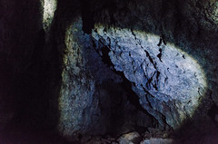 circle of light (sixthofdecember) Tags: travel iceland snfellsnes vatnshellir vatnshellircave cave underground nikon nikond5100 tamron tamron18270 rock stone