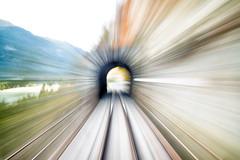 RHB Tunnel (stoned version) (Toni_V) Tags: m2401855 rangefinder messsucher leica leicam mp typ240 28mm elmaritm rhtischebahn rhb rhaetianrailway albula albulalinie unesco unescowelterbe unescoworldheritage tunnel train perspective longexposure motion blur movement graubnden grisons grischun filisur switzerland schweiz suisse svizzera svizra europe toniv 2016 161022
